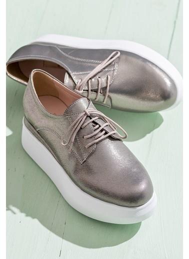 Dolgu Tabanlı Ayakkabı-Elle